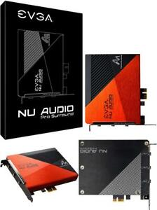 New EVGA NU Audio Pro Surround AddOn for NU Audio Pro 7.1 Surround Lifelike Audi