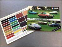 1976 AMC 20-page Car Sales Brochure Catalog - Hornet Gremlin Pacer Matador