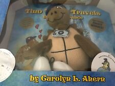 NEW CD PLUSH BOOK Tino Turtle Travels to Paris France autograph Carolyn L Ahern