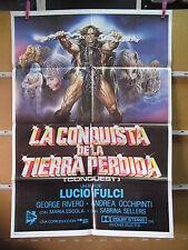 A4028 La conquista de la tierra perdida Lucio Fulci Jorge Rivero,  Andrea Occhip