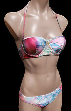 Tags Billabong Ladies Womens Size 8 Paradise Bikini MOULDED Cup Underwire