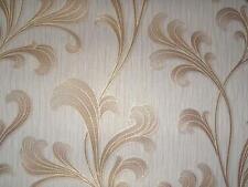 opulento Papel tejido-no Tejido PS 02337-40 Beige Oro Brillo Pintado Casa De