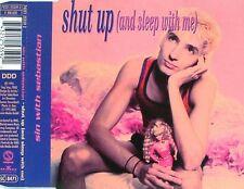 SIN WITH SEBASTIAN Shut Up (And Sleep With Me) MCD 1995 RAR & WIE NEU 90s Hit !