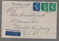 1946 Westerbork Holland internment Camp Prisoner Cover E David to USA