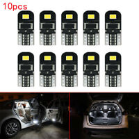 10X 12V T10 194 168 W5W SMD LED Car HID White CANBUS Error Free Wedge Light