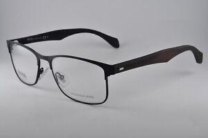 Hugo Boss Eyeglasses 0780 0RBR Matte Black Dark Brown, Size 54-17-150