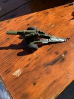 Vintage Tootsietoy Spring Loaded Military Field Cannon Circa 1950s