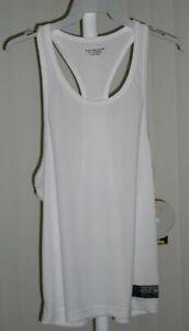 Shirt Tank Top White Bi-Dri Gold's Gym Small