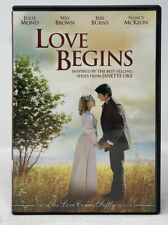 Love Begins (DVD, 2011) Prequel to Love Comes Softly, Janette Oke