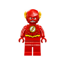 NEW LEGO The Flash Gold Outlines on Chest FROM SET 76098 JUSTICE LEAGUE (sh473)