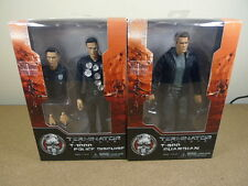 Neca Terminator Genisys Set of 2 T-800 Guardian & T-1000 Action Figures BN