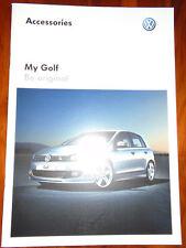 VW Golf Accessories range brochure Mar 2012