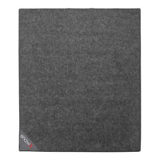 Shaw Drum Kit Mat: 2 m x 1.6 m Drummer's Pro Rug in Charcoal (+ FREE T-SHIRT)