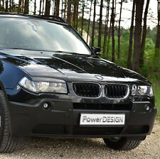 Eyebrows for BMW X3 E83 2004-2010  headlight eyelids lids ABS Plastic