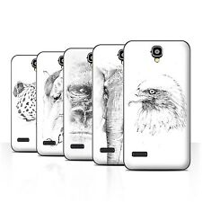 STUFF4 Back Case/Cover/Skin for Huawei Y5 /Y560/Sketch Drawing