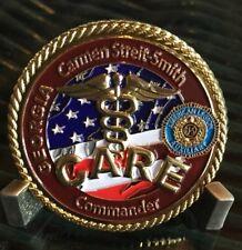 Georgia CARE American Legion Carmen Streit-Smith Commander Challenge Coin