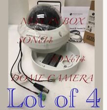 Lot 4 ADCD600-D0002 CCTV 520TVL 3.7-12mm PAL Surveillance Security Color Cameras