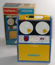 Playskool 1972 Play 'N Learn Computer #420 COMPLETE W/BOX
