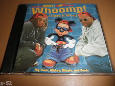 Disney MICKEY MOUSE rap SINGLE cd WHOOMP there it went TAG TEAM goofy minnie