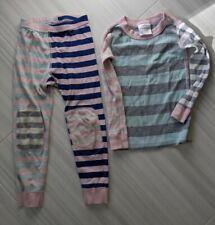 Girls Hanna Andersson Long Johns Pajamas Size 100 cm 4 US