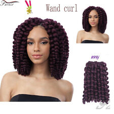 8Inch Jamaican Bounce Crochet Hair Extension Wand Curly 2X Twist Braiding Hair