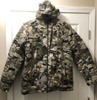 Under Armour Hunting Jacket Ridge Reaper EXTREME COLD Men Med & Hat 1316734-999