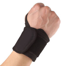 Elastic Balck Wrist Brace Sports Protector Wrap Guard Wrist Support Wristband