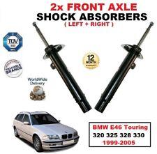 Ant Sx + DESTRO AMMORTIZZATORI PER BMW E46 Touring 320 325 328 330 1999-2005