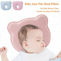 Baby Head Shaping Pillow Cotton For Flat Head Prevention Head Support kids Sleep