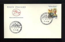1994  ITALIA FDC CAVALLINO 2.4.1994 TARQUINIA PROCESSIONE DEL CRISTO RISORTO
