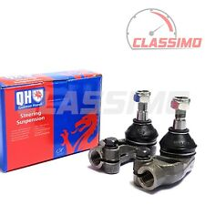 Track Tie Rod End Pair for VAUXHALL ASTRA & ASTRAMAX VAN MK 3 - 1991-1998 - QH