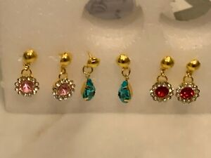 Rhinestone Eleganza Earring Collection for Tonner or Gene Doll