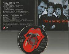 ROLLING STONES Like a Rolling Stone w/ SINGLE Vers PROMO DJ CD Single BOB DYLAN