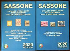 SASSONE 2020 Antichi Stati italiani Francobolli e lettere spedizione DHL gratis