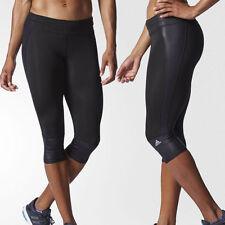 New ADIDAS Women's Supernova 3/4 Tight Running Fitness Training Pants AA5557 L