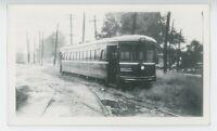 1938 Dayton & Troy Electric Railway #202 Streetcar Photo Cincinnati Ohio OH