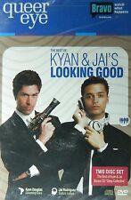QUEER EYE The BEST of KYAN & JAI's LOOKING GOOD DVD+Bonus Mixes CD 2-Disc Set