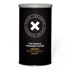 Black Insomnia Ground Coffee - Strongest, Smoothest Coffee in the World - FACT!