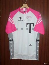 1990's Deutsche TELECOM TEAM CYCLING ADIDAS SHIRT Jersey Size L MAILLOT Germany
