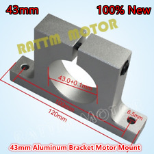 NEW 43mm Spindle Motor Clamp Mount Aluminium Bracket Neck Holder for CNC Router
