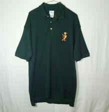The Disney Store Tigger Short Sleeve Polo Golf Shirt Size LARGE L Mens Clothing