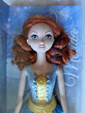 "Disney Princess Merida 12"" Doll Sparkling Princess Toy Movie Brave Red Head Hair"