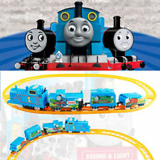 DIY Electric Tomas Train Handcrafted Kid Developmental Education Toys Kids Gifts
