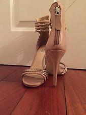 Brand new GUESS open toe pump size 8