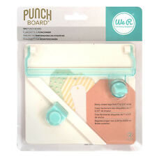American Crafts We R Memory Keepers Tag Punch Board - Easy Use Card Cutting Tool