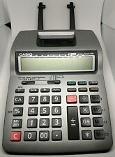 Casio HR-100TM Printing Calculator - Grey Tested and Working!
