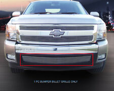 Fedar Fits 07-13 Chevy Silverado 1500 Long Polished Billet Grille Overlay