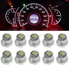10 x White T3 Neo Wedge 2 SMD LED Twist Lock LED A/C Climate Dash Cluster Bulbs