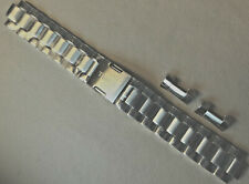 Mens Timex T2P606 20mm Watch Band Fly Back Chronograph Push Button Trifold Clasp
