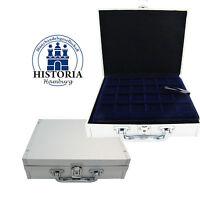 Leuchtturm Koffer Klein Nr 345064 für 144 x 2 Euro in Kapseln inkl. 6 Tableaus